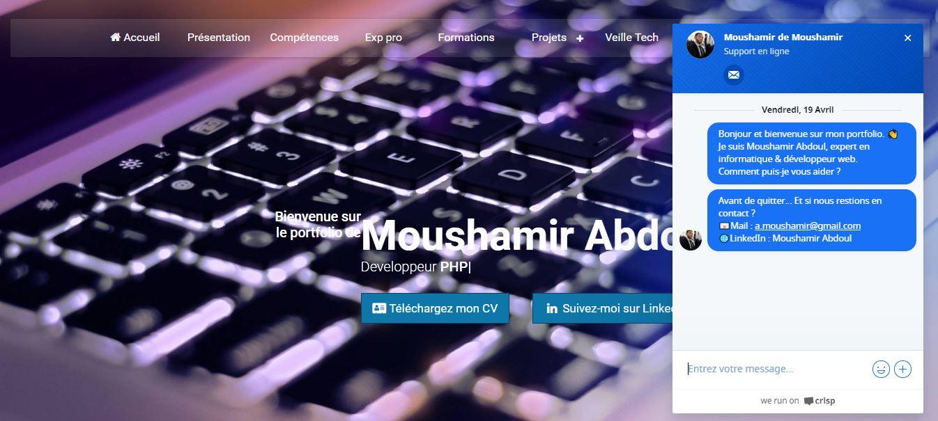 portfolio de moushamir